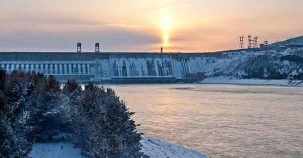 Плотина ГЭС