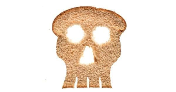 Хлеб с мелом