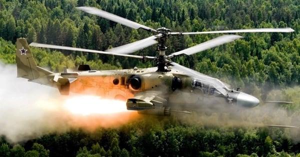 Вертолёт Ка-52 на учениях Запад-2017 ударил по людям.