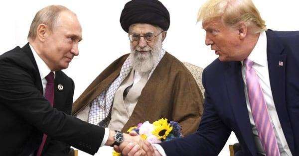 Путин, Хаменеи, Трамп