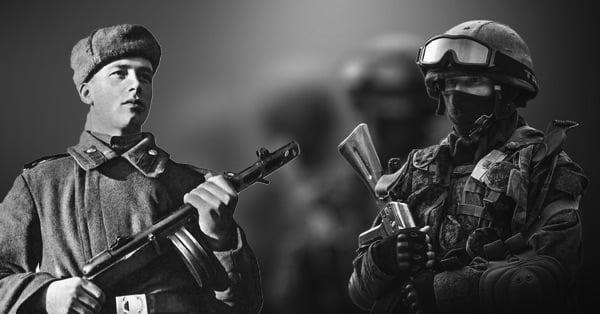 По законам прошедшей войны